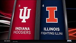 Indiana vs. Illinois Highlights   2018 Big Ten Baseball Tournament
