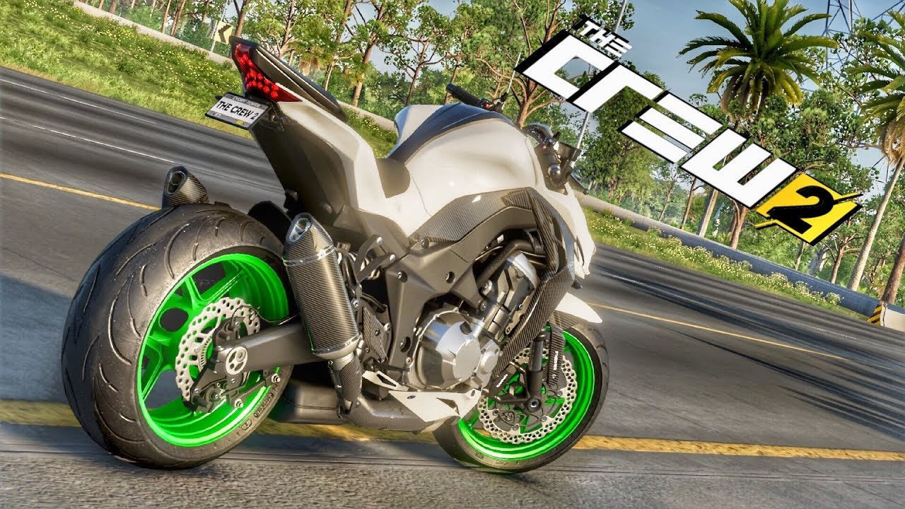 comprei a minha primeira moto nova the crew 2 kawasaki z1000 abs youtube. Black Bedroom Furniture Sets. Home Design Ideas