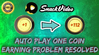 Snack Video Auto Scroll Earnings Problem Solve _Snack Video Auto Clicker Tips screenshot 5
