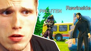 HIDE and SEEK DUELL in FORTNITE gegen PALUTEN!