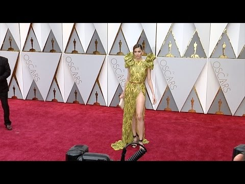 Blanca Blanco 2017 Oscars Red Carpet