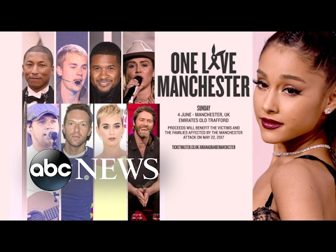Ariana Grande to return to Manchester for concert Mp3