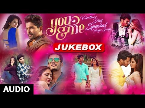 Valentines Day Special Songs Telugu   You & Me Jukebox   Telugu Hit Songs
