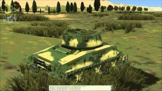 M4 Shermans in Sicily PP2x 1.2 Mod of Panzer Elite SE