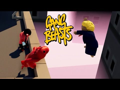 GANG BEASTS ONLINE - Thank you! Come Again! [WAVES]