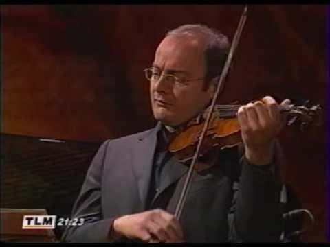 Bach Sonata no. 3 for violin and klavier (1) Gordan Nikolitch, Xiao Mei Zhu