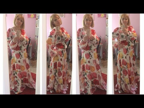 Платье с запАхом/Юбка полусолнце выкройка/Платье в пол часть 2