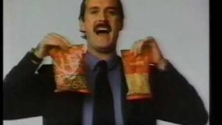 Planters Pretzels Australian Commercial 80's With John Cleese