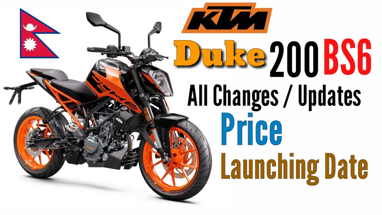 Ktm Duke 200 Bs6 In Nepal 2020 Changes Updates Price And