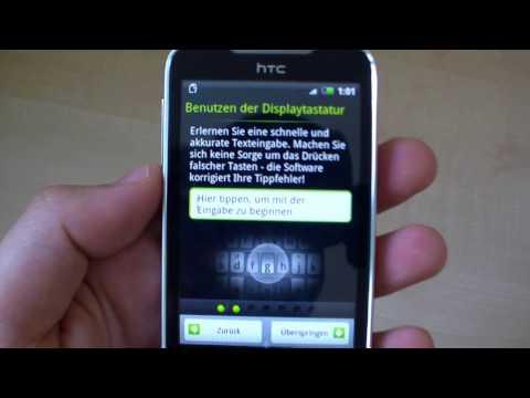 HTC Legend German Hands On Video