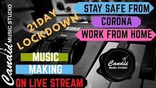Candid Music Studio Live Stream