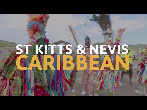 The Queen's Baton visits St Kitts and Nevis