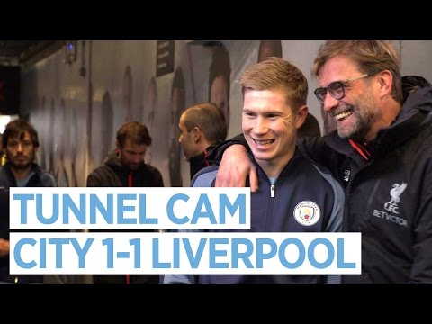 TUNNEL CAM | Man City 1-1 Liverpool
