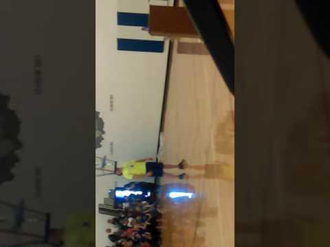 World record holder at Emmett middle school caught on camera
