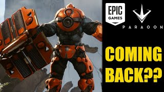 Paragon Gets Updated On Playstation | Is Epic Games Bringing Paragon Back?