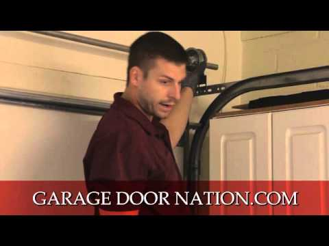 How to Fix A Crooked Garage Door