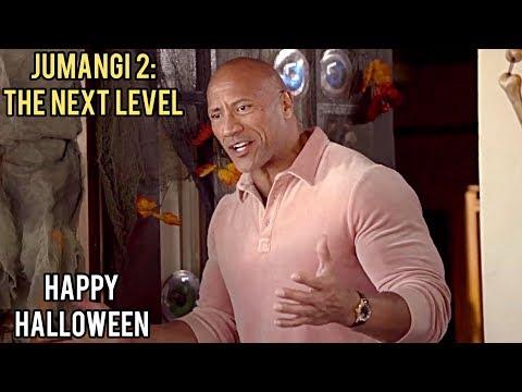 Джуманджи 2: Новый Уровень / Jumanji 2: The Next Level   Счастливого Хэллоуина (2020) Дуэйн Джонсон