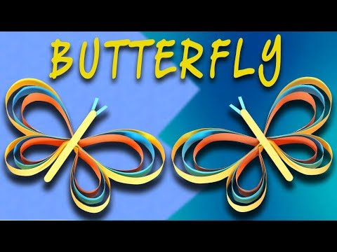 DIY Butterfly making With Craft Papers Easy Diy Butterfly Project For Beginners