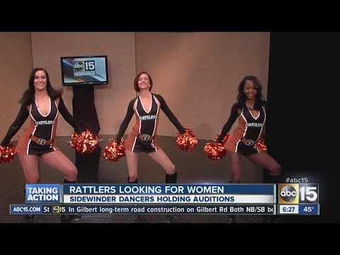Audition for Arizona Rattlers