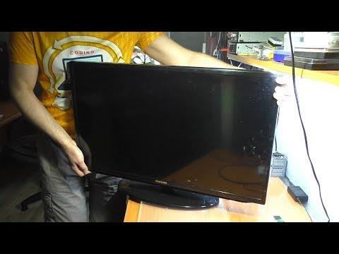 Нет изображения (подсветки) на т/в Samsung UE32EH5047K / РЕМОНТ