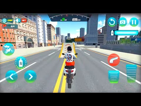 Extreme Motorcycle City Driving Moto Rider by Brilliant Gamez Android Gameplay