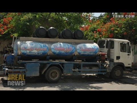 Human rights groups warn of a severe water crisis in the Gaza Strip