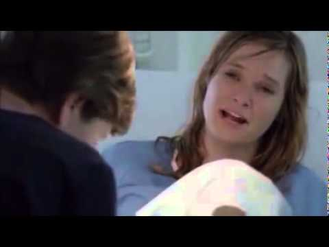 Rachel Blanchard giving birth