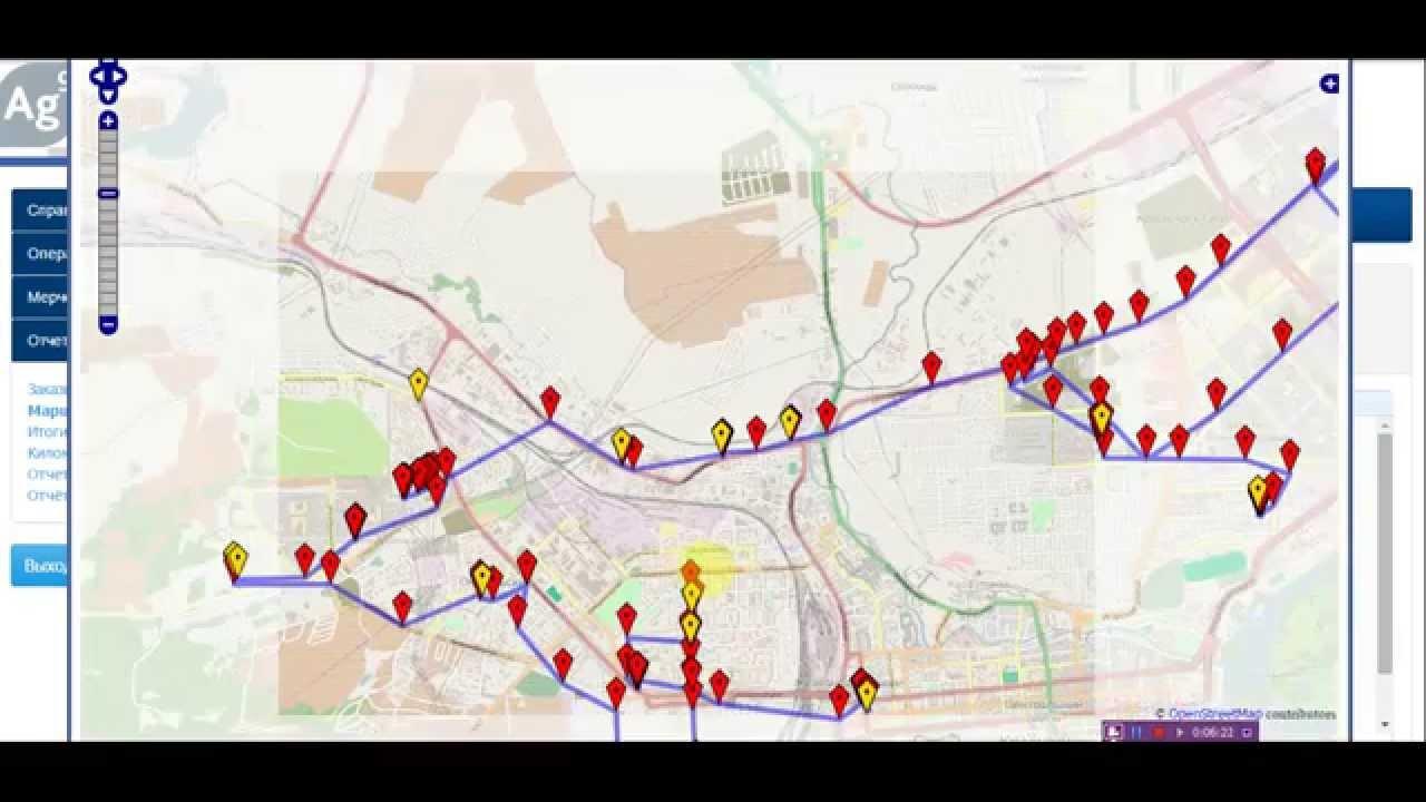 ГЛОНАСС/GPS контроль местоположения торговых представителей