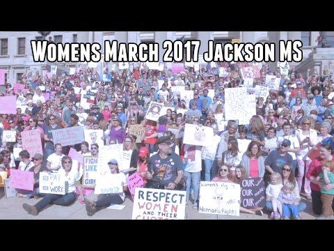 Women's March 2017 Jackson Mississippi