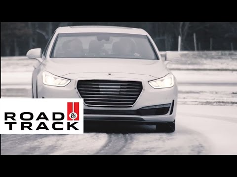 Here's How AWD Can Help You Drive Better in Winter Conditions | Road & Track + Genesis