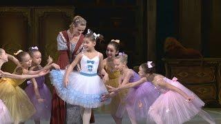 Самая молодая балерина станцевала в Киеве (новости)
