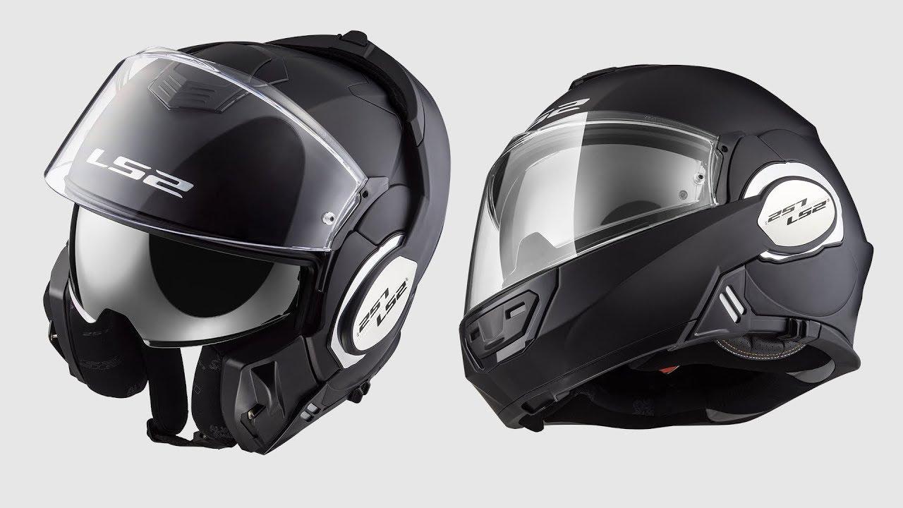 3619f8d106b06 Ls2 Helmets Valiant FF399 180 degree flip front Modular Motorcycle Helmet