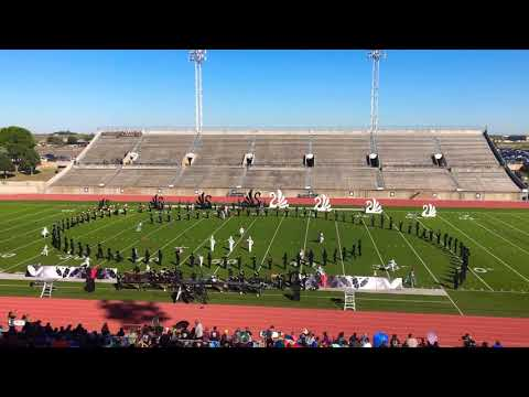 Montwood High School Marching Band Area Prelims 2018