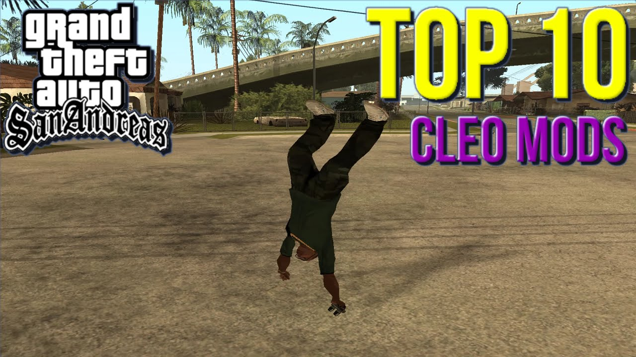 best cleo 4 mods for gta sa