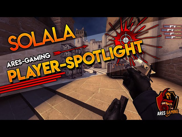 Player-Spotlight: INSANE 1vs5 DEAGLE ACE-CLUTCH from solala  [CS:GO] by ares-gaming