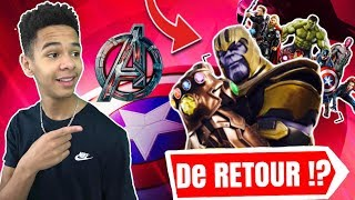 🔴EVENT, AVENGERS ON FORTNITE! THANOS BACK?! Designer Code contest: Kenziis
