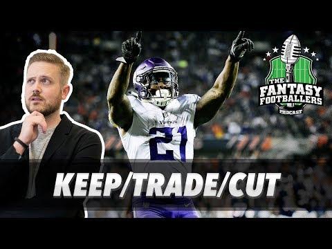 Fantasy Football 2017 - Week 7 Keep/Trade/Cut, Pump the Brakes, Hype Check - Ep. #460
