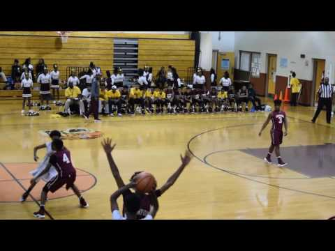 Champion Middle vs Tucker Middle School at Tucker Boys 1-11-17