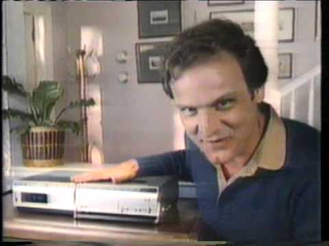 Bill Smitrovich 1981 RCA Selectavision Commercial