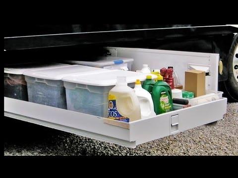 HOW TO: Organize an RV Basement