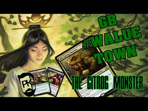 GB VALUE TOWN - HEARTLESS GITROG in MODERN - PleasantKenobi MTG Gameplay