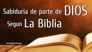 🔥 Sabiduría de parte de Dios según la Biblia | Palabra ...