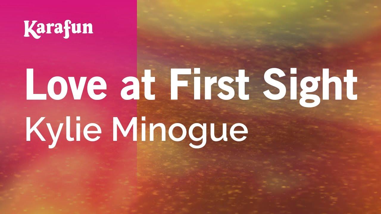 Karaoke Love at First Sight - Kylie Minogue *