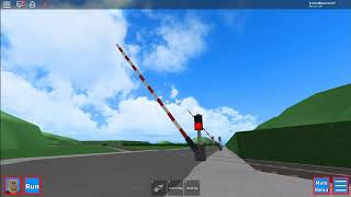 *STEAM TRAIN* Marstem Firth Level Crossing, GCR (ROBLOX) 01.11.17
