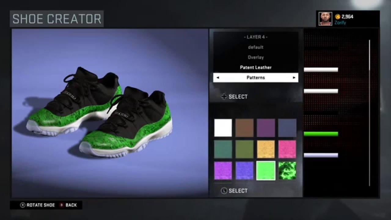 066db61ec4b canada nba 2k16 shoe creator nike kd 8 300eb 93f85  where can i buy nba  2k16 shoe creator air jordan 11 low green snakeskin youtube bb495