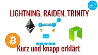 Lightning Network, Raiden & Trinity erklärt: Off-chain Skalierung für Neo, Ethereum und Bitcoin