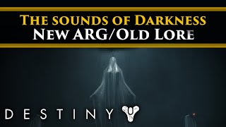 Destiny 2 Lore - A Darkness audio Transmission was discovered. This is what it sounded like.