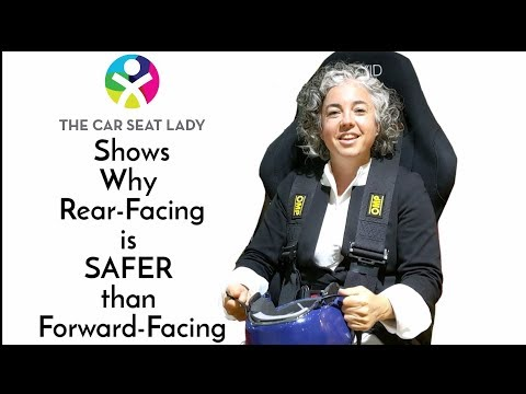 Rear-facing Vs. Forward-facing Explained Like You've Never Seen Before! - By The Car Seat Lady