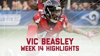 Vic Beasley's 3 Sack Day! | Falcons vs. Rams | NFL Week 14 Player Highlights