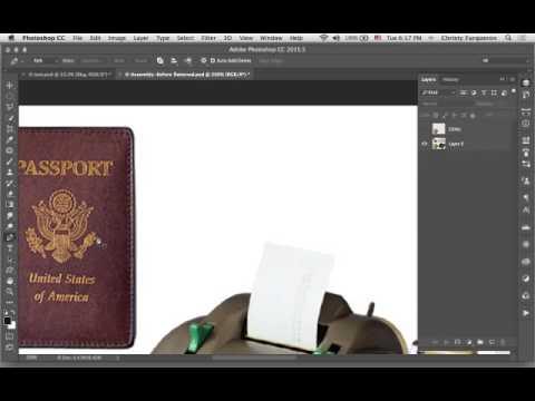Photoshop Scene Assembly